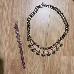 Hand Made bracelet and beautiful Neck Piece